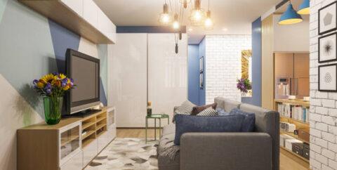 Decoração de Studio e Pequenos Apartamentos